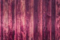 Fondo de madera rosado perfecto de la textura de los tablones imágenes de archivo libres de regalías