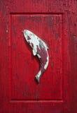 Fondo de madera tallado de los pescados Fotografía de archivo libre de regalías