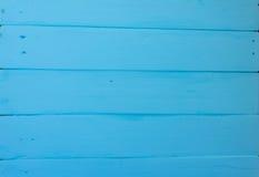 Fondo de madera Textura, la superficie de los viejos tableros de la madera natural con diversas sombras del color azul brillante Imágenes de archivo libres de regalías
