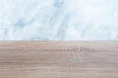 Fondo de madera vacío del gris del escritorio y de la pared Espacio en blanco para el texto y las imágenes imagen de archivo libre de regalías