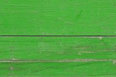 Fondo de madera verde Fotografía de archivo