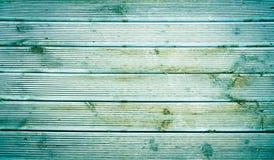 Fondo de madera verde de la textura Foto de archivo libre de regalías