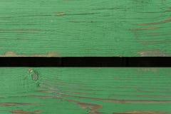 Fondo de madera verde de dos tableros papeles pintados para los blogs fotografía de archivo