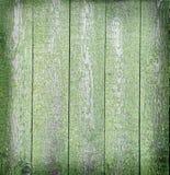 Fondo de madera verde envejecido foto de archivo libre de regalías