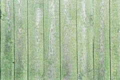 Fondo de madera verde envejecido imagen de archivo