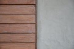 Fondo de madera y concreto de la textura fotografía de archivo