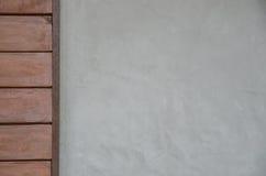 Fondo de madera y concreto de la textura foto de archivo libre de regalías