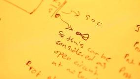 Fondode Mathematicalalmacen de metraje de vídeo
