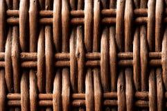Fondo de mimbre tejido foto de archivo libre de regalías