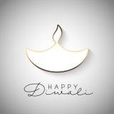 Fondo de Minimilistic Diwali