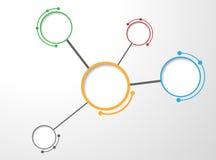 Fondo de Molecula Imagen de archivo libre de regalías
