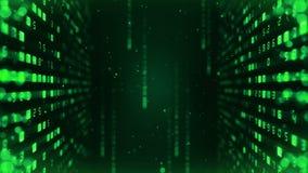Fondo de muchos n?meros Concepto de los datos del n?mero del negocio de las finanzas Animaci?n del lazo del negocio CG stock de ilustración