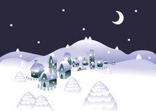 Fondo de Navidad stock de ilustración
