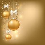 Fondo de Navidad Foto de archivo libre de regalías
