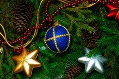 Fondo de Navidad Imagenes de archivo