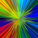 Fondo de neón abstracto brillante Foto de archivo libre de regalías