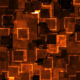 Fondo de neón del azulejo Imagenes de archivo