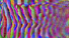 Fondo de neón granoso saturado del Cyberpunk 80s ilustración del vector