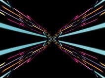 Fondo de neón abstracto Imagen de archivo libre de regalías