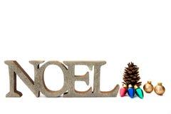 Fondo de Noel de la Navidad Fotografía de archivo