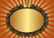 Fondo de oro Fotografía de archivo libre de regalías