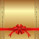 Fondo de oro Foto de archivo libre de regalías