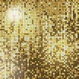 Fondo de oro Imágenes de archivo libres de regalías