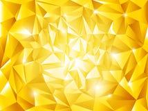 Fondo de oro abstracto   Imagen de archivo