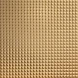 Fondo de oro abstracto de la pared 3d rinden la ilustración Fotografía de archivo