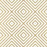 Fondo de oro abstracto del Rhombus, cuadrado Fotografía de archivo