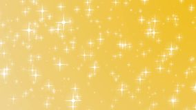 Fondo de oro de la Navidad con el hd de Navidad del día de fiesta del oro de las estrellas que cae ilustración del vector