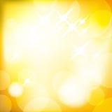 Fondo de oro de la Navidad del vector Imagenes de archivo