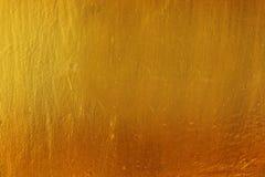 Fondo de oro de la textura Fotos de archivo