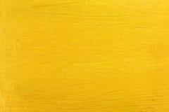Fondo de oro de la textura Foto de archivo libre de regalías