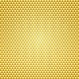 Fondo de oro de la textura de Kevlar del carbono Foto de archivo libre de regalías