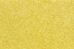 Fondo de oro de la textura del brillo Fotografía de archivo