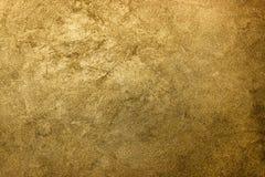 Fondo de oro de la textura Oro del vintage imágenes de archivo libres de regalías