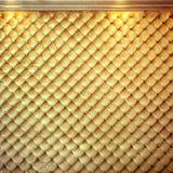 Fondo de oro de lujo Fotos de archivo libres de regalías