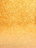 Fondo de oro del brillo Imagenes de archivo