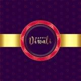 Fondo de oro del diwali feliz étnico del estilo