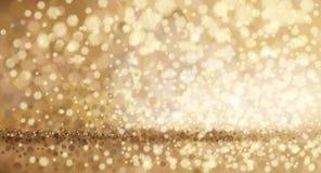 Fondo de oro del vector Imagen de archivo