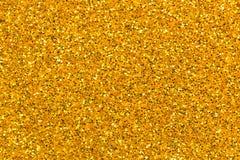 Fondo de oro de la textura del brillo Imágenes de archivo libres de regalías