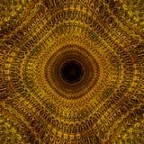 Fondo de oro ornamental con diseño y concepto de lujo de la elegancia Imágenes de archivo libres de regalías