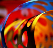 Fondo de papel abstracto multicolor Foto de archivo libre de regalías