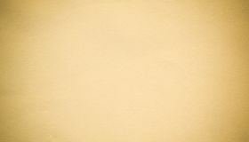 Fondo de papel amarillento Imagen de archivo libre de regalías