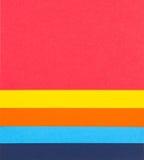 Fondo de papel colorido Imágenes de archivo libres de regalías