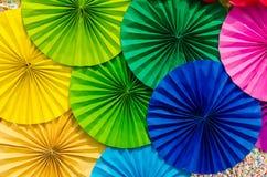 Fondo de papel colorido Imagenes de archivo