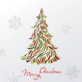 Fondo de papel de la Navidad Fotografía de archivo libre de regalías