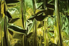 Fondo de papel de oro Foto de archivo libre de regalías