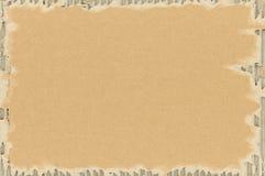 Fondo de papel del cartón Foto de archivo libre de regalías